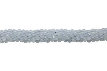 Aquamarine Polished 4mm Round