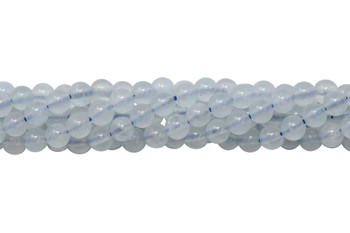 Aquamarine Polished 4mm Round
