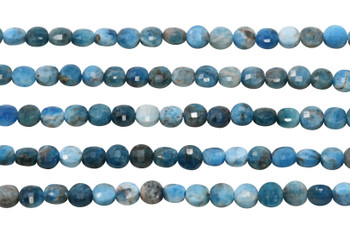 Apatite Polished 6mm Faceted Coin