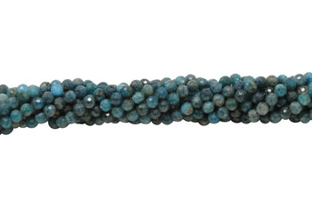 Apatite Polished 6mm Faceted Round