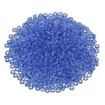 Size 8 Toho Demi Round Seed Beads -- Serenity Blue