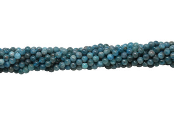 Apatite Polished A Grade 4mm Round