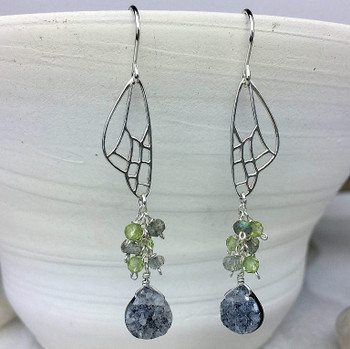 Butterfly Wing - Sterling Silver