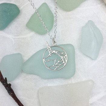 Unicorn - Sterling Silver