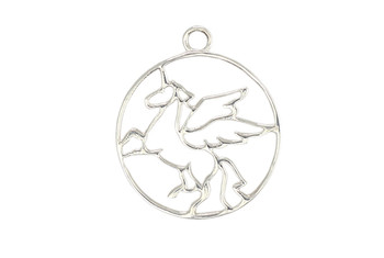 Flying Unicorn - Sterling Silver