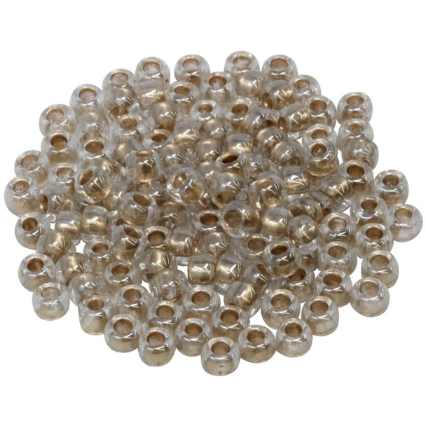 Size 3 Toho Seed Beads -- Antique Gold Lined