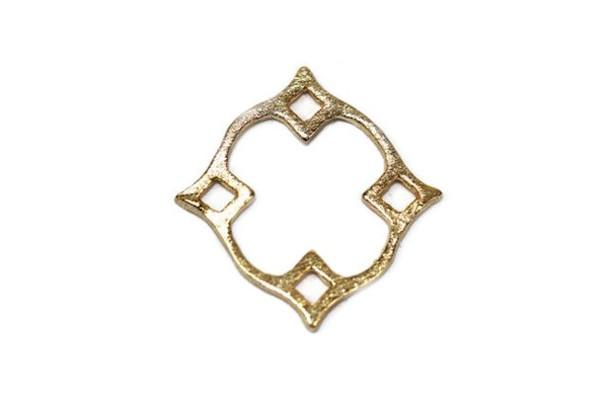 Small Diamond Nimbus - Vermeille