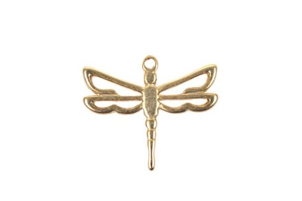 Dragonfly Satin Finish - Vermeille