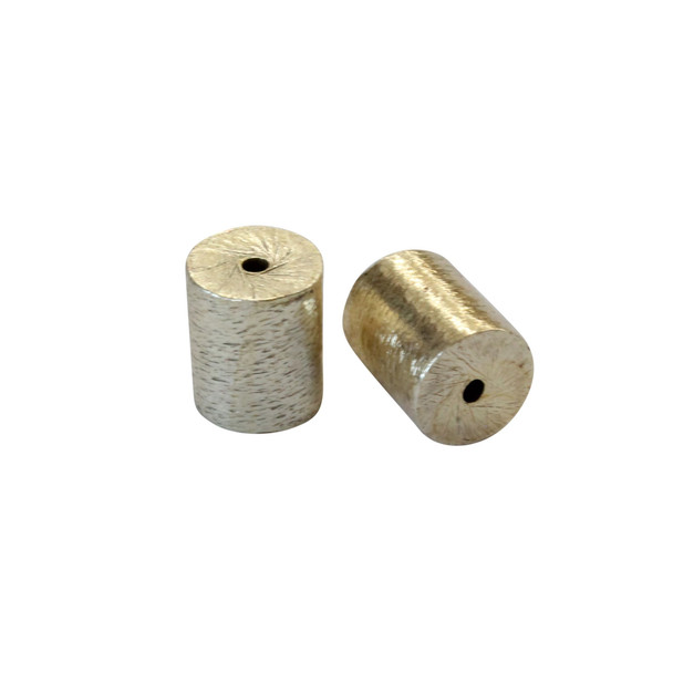 Cylinder 8x10mm - Light Gold Plated