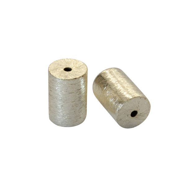 Cylinder 10x15mm - Light Gold Plated