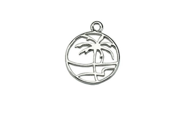 Paradise Palm - Sterling Silver