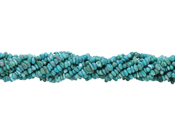 American Turquoise Polished 3-4mm Nugget