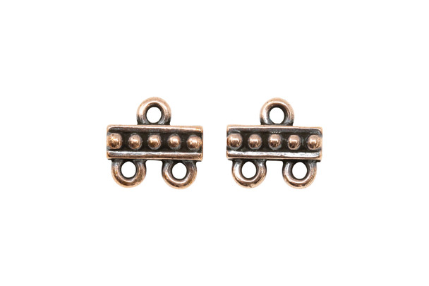 2 to 1 Link - Copper Plated