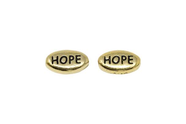 Hope Bead - Gold Plated