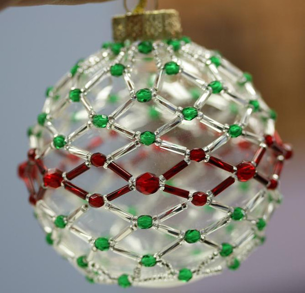 Netted Ornament Kit - Red and Green