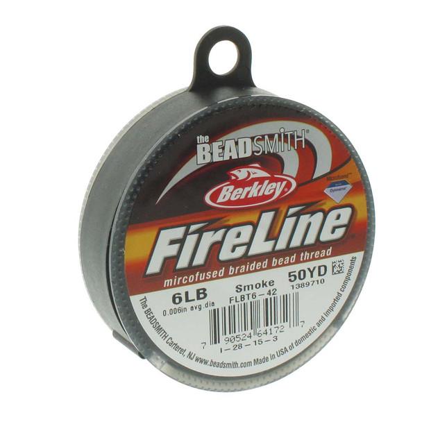 Fireline® - Smoke - 50 Yards - 6lb