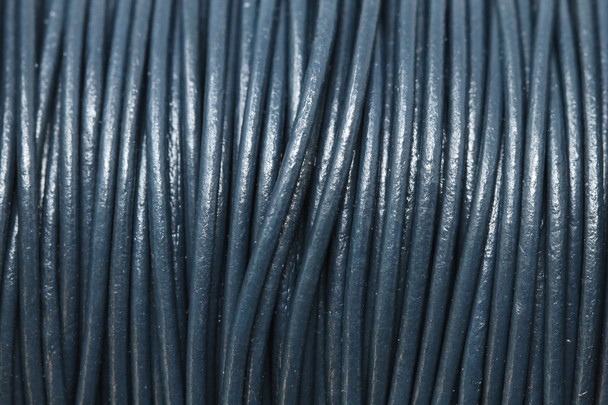 Pacific 1.5mm Leather Cord - Sold by the Foot
