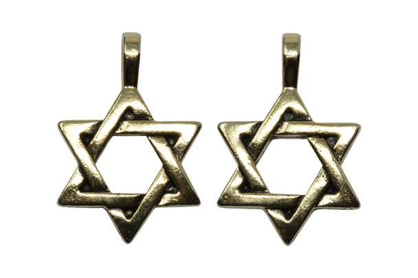 Star of David Pendant - Gold Plated