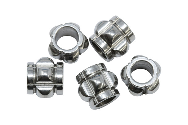 Stainless Steel 10x11mm Hex Barrel