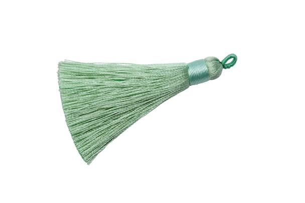 Pale Green 2.5 Inch Tassel