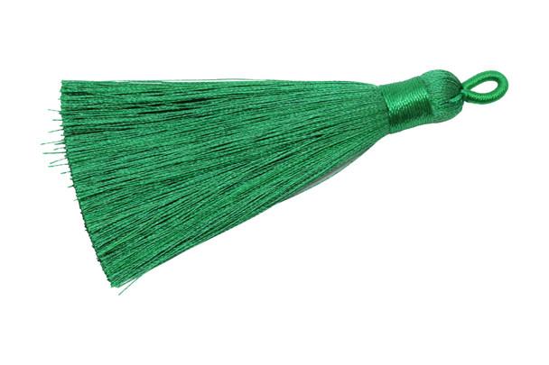 Green 3 Inch Tassel