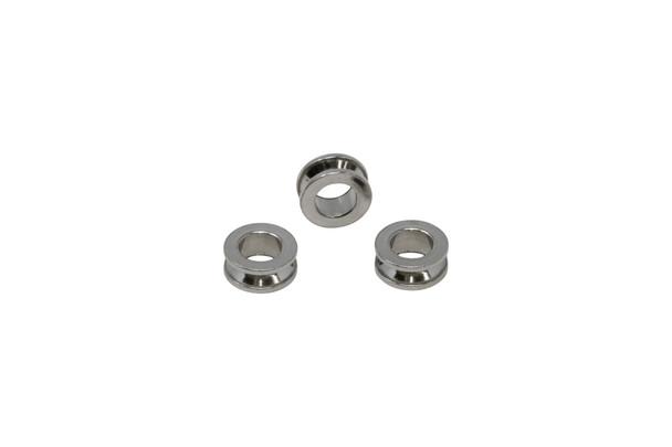 Stainless Steel 10mm Barrel Bead