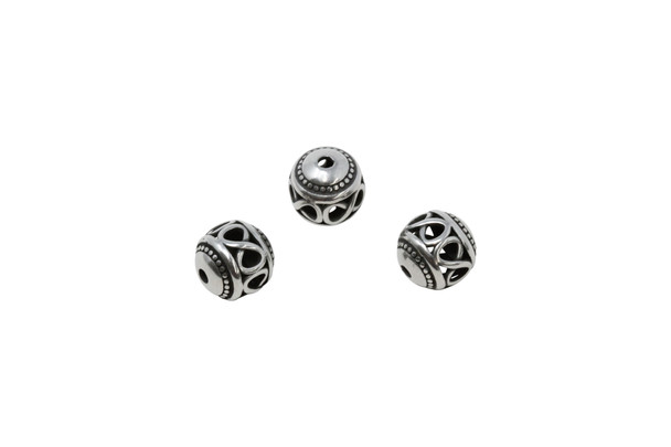 Stainless Steel 10mm Eternity Bead