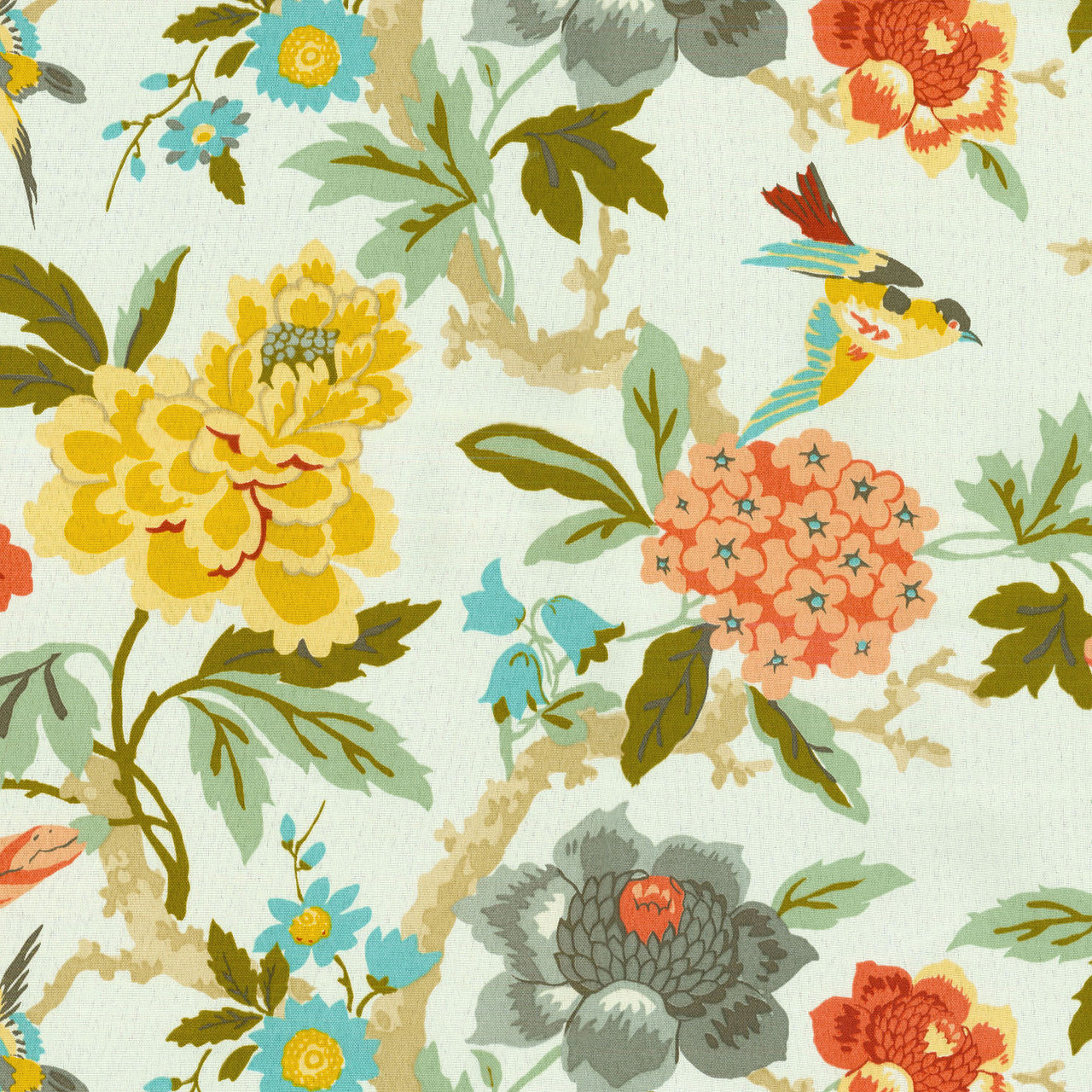 Waverly Fabric Sns Candid Moment Melon 679831