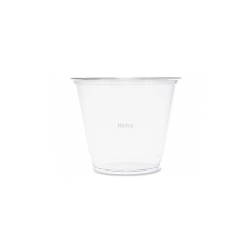 Cold Cup (PET) - 9oz (265ml) 92mm Sundae Cup Clear [HTB09]