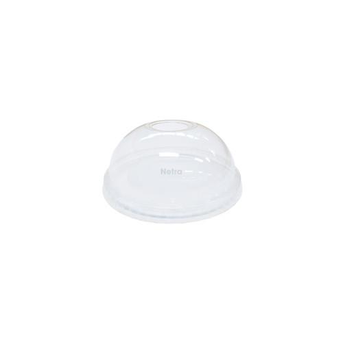 LID DOME (PET) - Clear [D78] / suits Clear 10oz PET Cold Cups