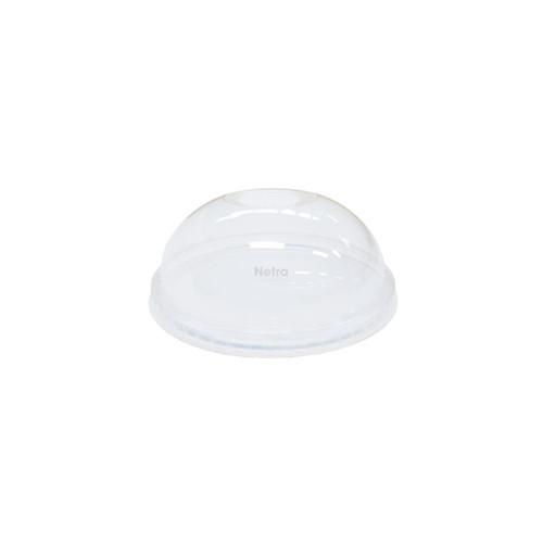 LID DOME (PET) - Clear [D92 NO HOLE] 92mm - NO HOLE / suits 16oz 92mm PET Cold Cups