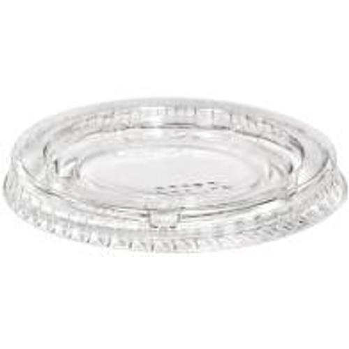 LID FLAT (PET) to suit 1oz & .75oz Portion/Souffle Cup