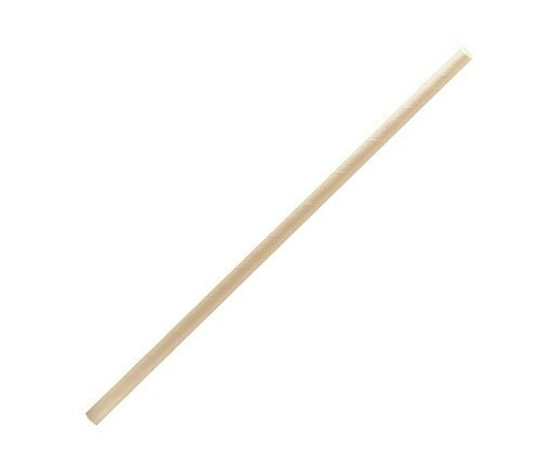 Straw (Paper) Regular - BROWN KRAFT - BIOSERV [0256680] 197mm x 6mm Bore