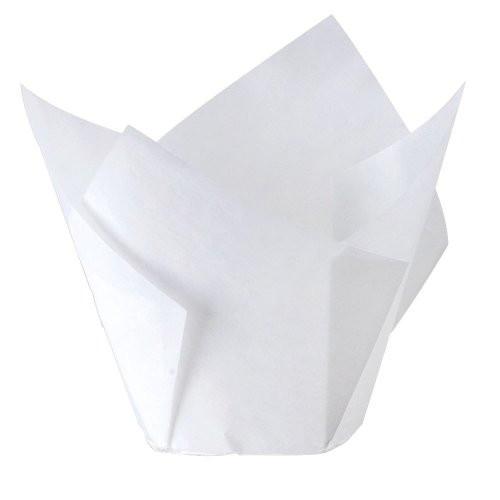 Muffin Cup / Tulip - 60mm x 175mm WHITE - [CP60/175WHITE(5000)]