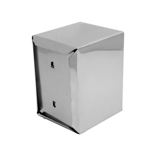 Dispenser - Stainless Steel Compact 130x95x115mm /Suits Compact Dispenser Napkins