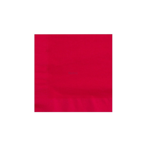 Napkin Lunch 2 Ply - Red