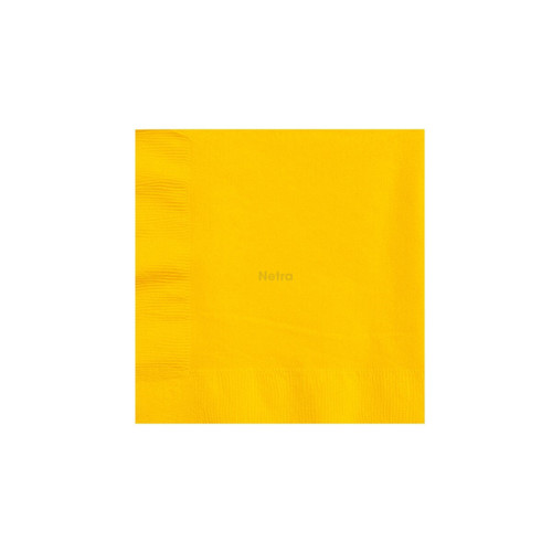 Napkin Lunch 2 Ply - Yellow