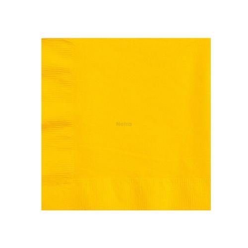 Napkin Dinner 2 Ply - Gold 1/4 fold