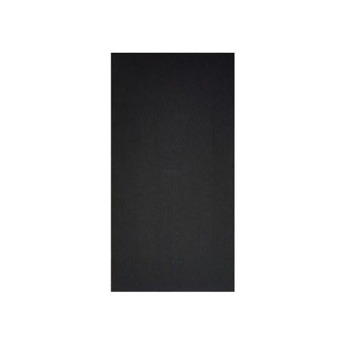 Napkin Dinner QUILTED - Black 1/8 fold