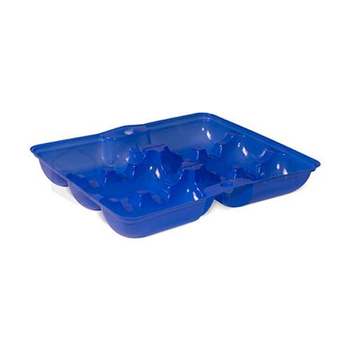 Oyster Tray - 6 Cavity BLUE