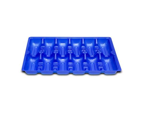 Oyster Tray - 12 Cavity BLUE