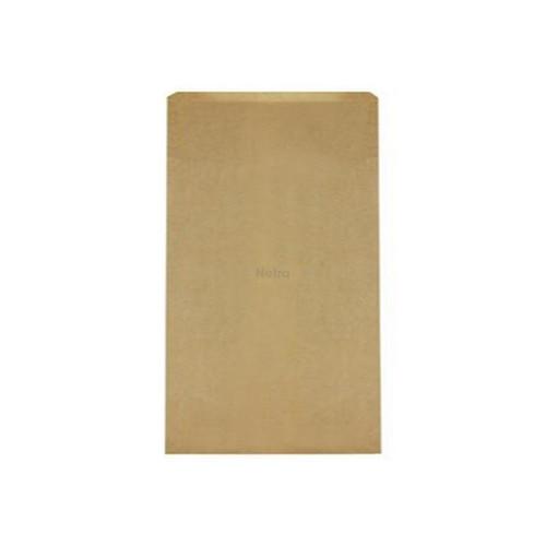 Bottle Bag Paper - Triple - Satchel #3  [B154S0010] 396x229+82mm Brown HWS - DETPAK - 250/BNDL
