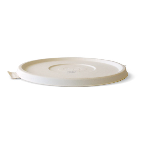 LID (BIOCANE) - BIOPAK WHITE [B-BLL-W] / suits 24 - 40oz Biocane Bowl