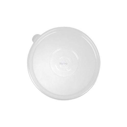 LID FLAT (PP) - BIOPAK Clear [B-BLL-PP] / suits 24 - 40oz Biocane Bowl