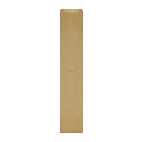 Paper Bread Bag - French Stick Regular 530x100+42mm BROWN - 500/BNDL