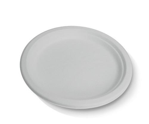 "Plate (Sugarcane) - Round 10"" (254mm) - Biodegradable"