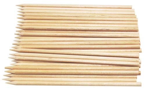 Bamboo Skewers - 4mm x 250mm Long - HOT DOG