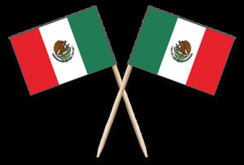Steak Marker - Mexican - FLAG TYPE