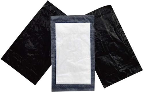 Soaker Pad - Black Sealed 130x90mm
