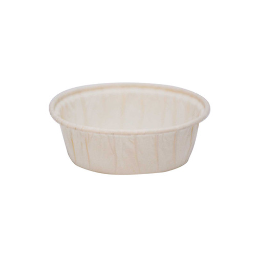 Paper Baking Mould - Friand Round - [G9F08145] - 85x65mm(TO), 75x55mm(TI), 62x44mm(B), 23mm (H)